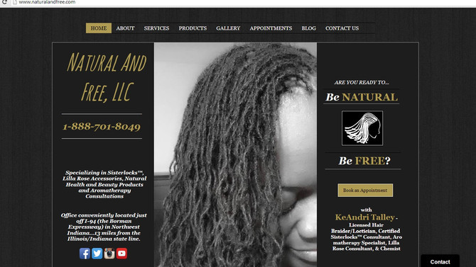Natural And Free Brings In The New Year With A New And Improved Website!!!