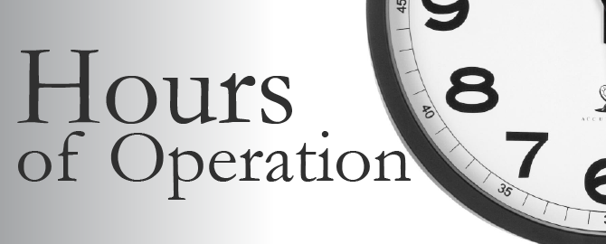 Natural And Free's New Hours Of Operation Take Effect Tomorrow!!!