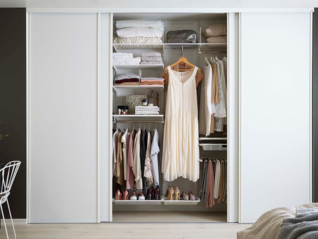 HOW TO SUCCESSFULLY SHARE A WARDROBE