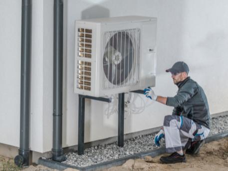 Installation, réparation et maintenance de pompe à chaleur air-eau