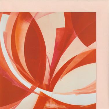 Orange-Rote Blüte