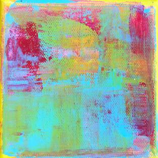 Himmelgelb - Zitronenblau - Rosarot