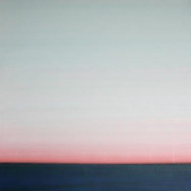 Horizont Hellblau-Rot-Blau