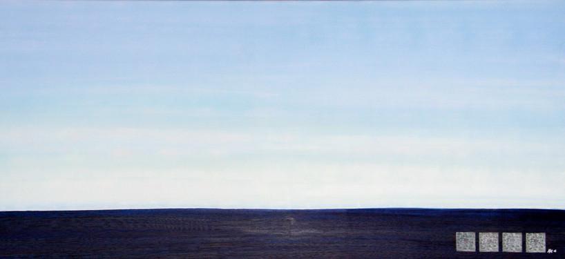 Horizont Gelb-Blau