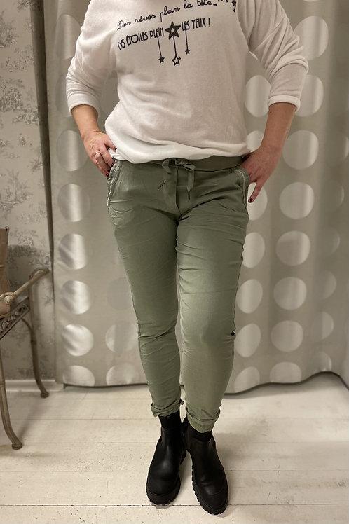 Stretch pants Khaki