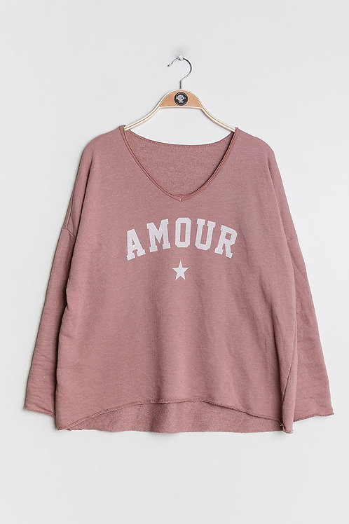 Sweater Amour Roosa