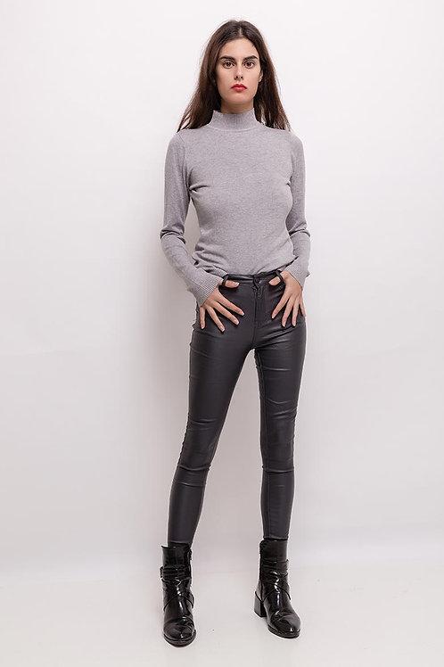 Estee coated housut Black