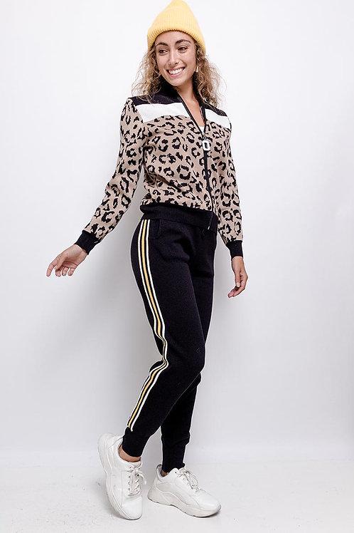 Jogger-asu Leopard Print