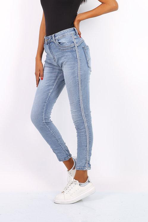 Christy Jeans Blue