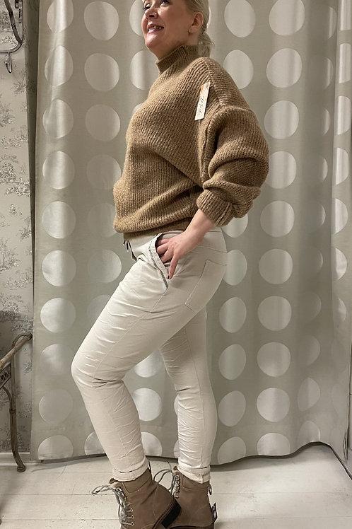 Stretch pants Beige