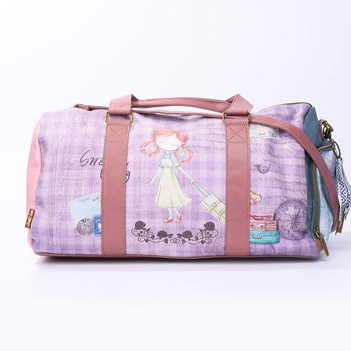 Sweet & Candy Weekend bag Lila