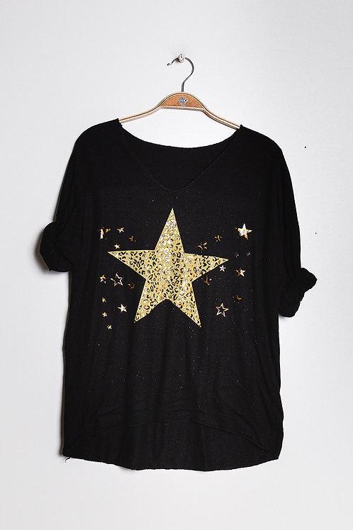Tähtipaita Black
