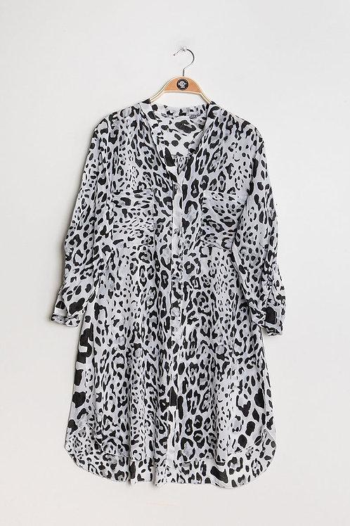 Leopardi paitamekko White