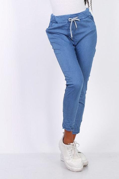 Farkkujoggerit  Blue Jeans