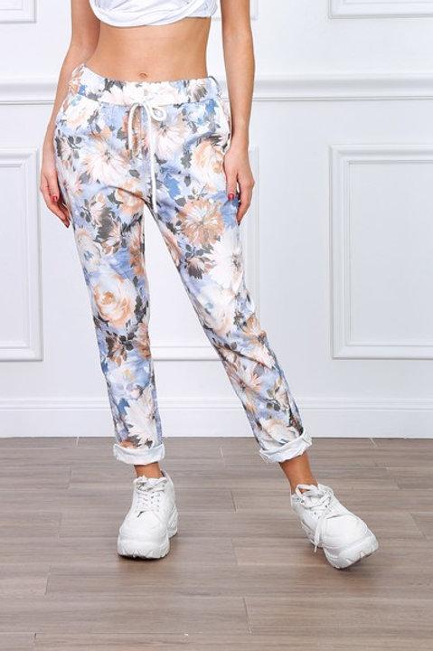 Kukkahousut BlueJeans