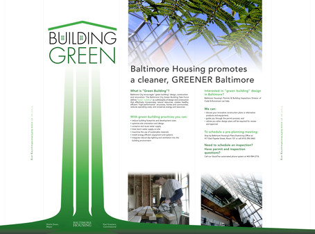 Green Builders Expo 8-Foot Display; Design, Photography, & Production
