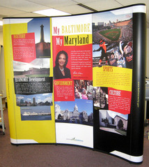 Mayoral Expo 8-Foot Display; Design, Photography, & Production