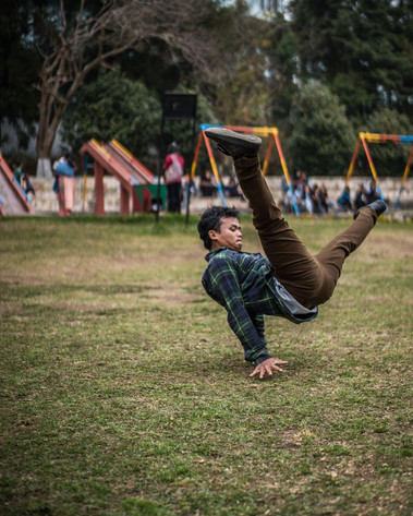 A weekend jam with the B-Boys of Shillong