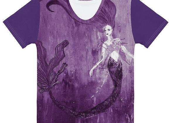 Women's Purple Mermaid T-shirt