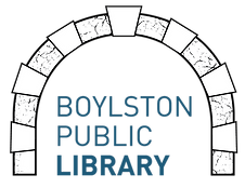Boylston Publc Library logo with an arch.
