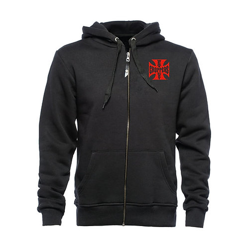 Hoodie WCC Zip-Up Red OG Cross