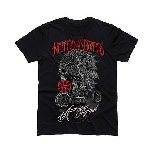 T-Shirt WCC Chief Black