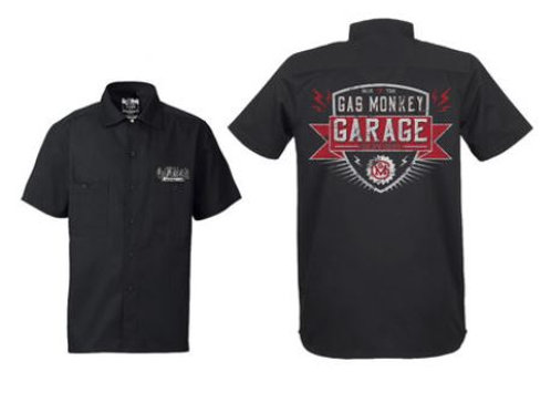 Gas Monkey chemise Bolted Shield