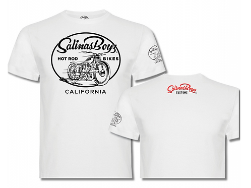 Salinas Boys t-shirt manches courtes blanc THE CLASSIC SALINAS BOYS