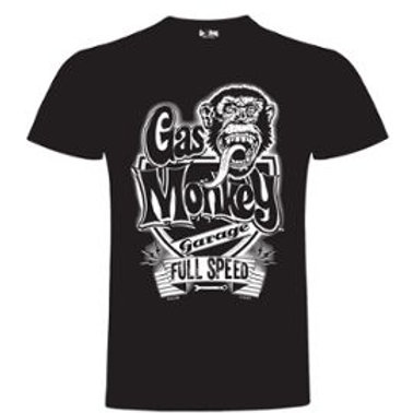 Gas Monkey t-shirt Full Speed black