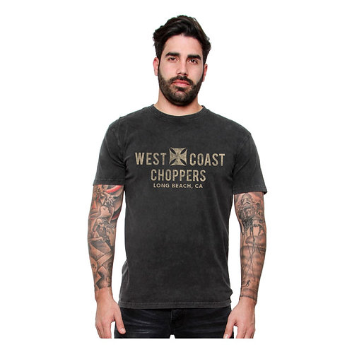 T-Shirt WCC Eagle Vintage Black