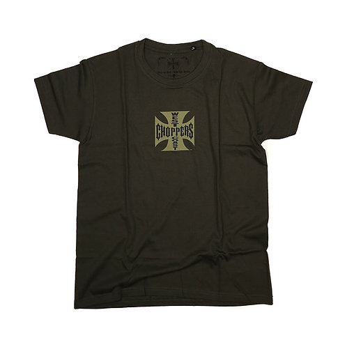 T-Shirt WCC Maltese Cross Khaki