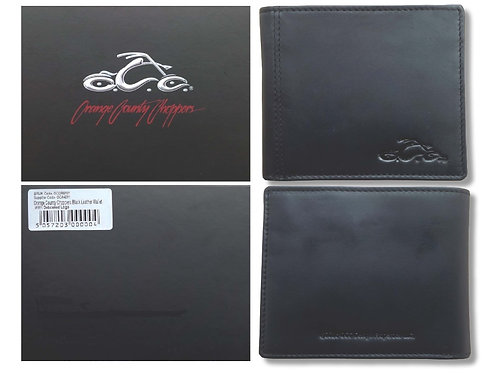 Orange County Choppers portefeuille OCC With Debossed logo
