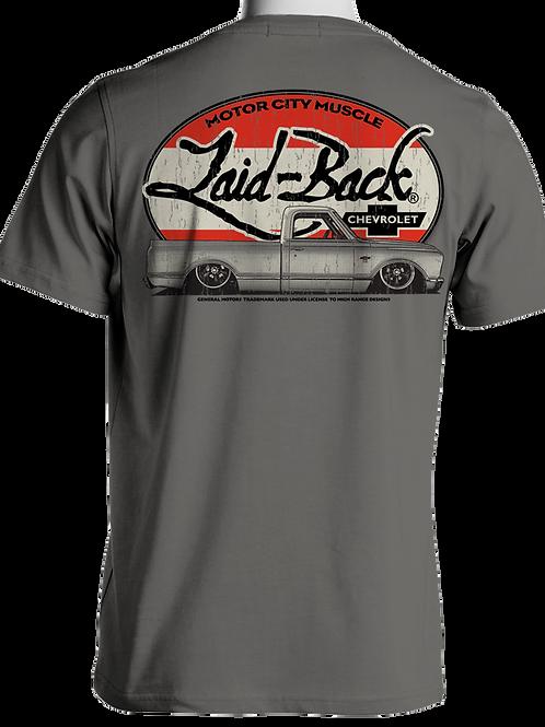 Laid Back USA t-shirt manches courtes Halfway 67-72 Trucks Grey
