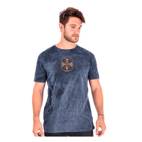T-Shirt WCC Spark Vintage Blue