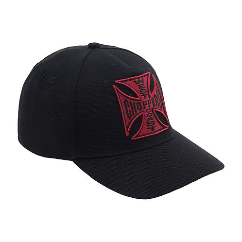 Casquette WCC Red Cross Black Round