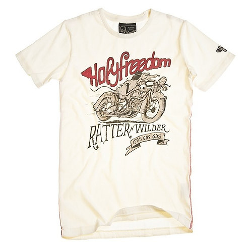 Holy Freedom t-shirt manches courtes Ratter white