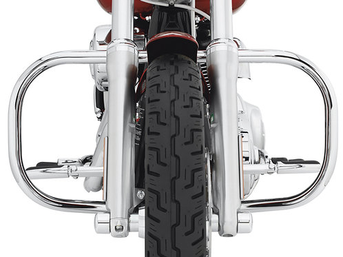 Crash-Bar Chrome pour 91-'05 Dyna (sauf '93-'05 FXDWG and '94-'05 FXDS)