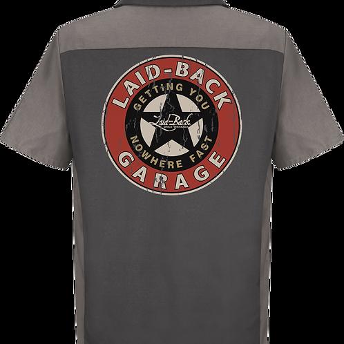 Laid Back USA chemise manches courtes Garage star Mecha