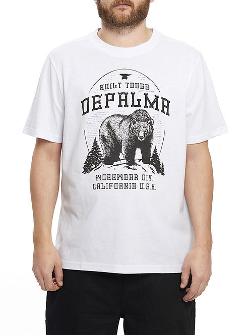 Depalma Workwear t-shirt manches courtes blanc Better Days White