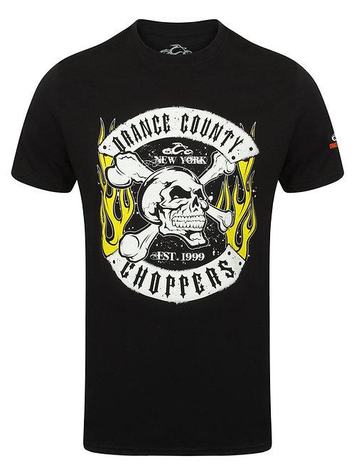 Orange County Choppers noir OCC Skull Rocker Black