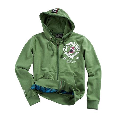 Holy Freedom sweat shirt hoodie Racing Inc zip