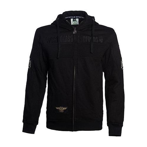 Hoodie WCC Zip-Up CFL Black Label Black