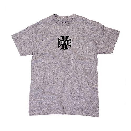 T-shirt WCC Maltese Cross ATX Grey
