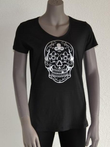 Le Garage t-shirt femme manches courtes noir Mexicano