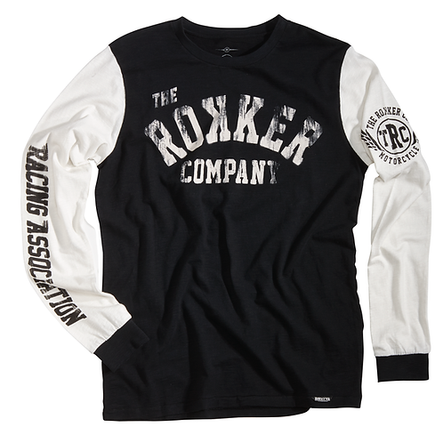 Rokker t-shirt manches longues homme Team 77