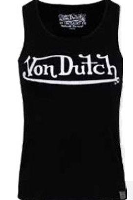 Von Dutch débardeur noir