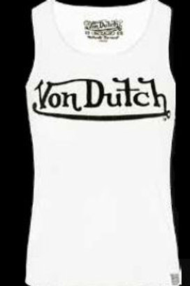Von Dutch débardeur blanc