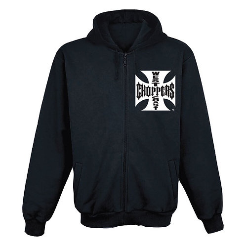 Hoodie WCC Zip-Up Maltese Cross