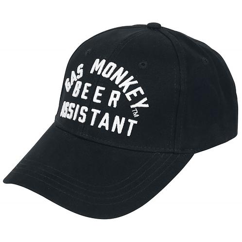 Gas Monkey casquette noir Adjustable cap Beer Assistant black