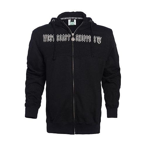 Hoodie WCC Zip-Up CFL Zip Black